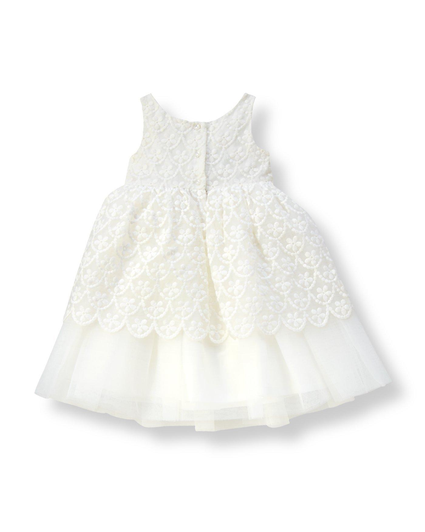 Janie And Jack Girl/'s Floral Jacquard Dress Special Occasion