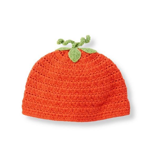 Pumpkin Crochet Beanie