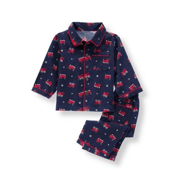 Train Pajama Set