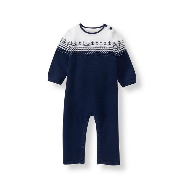 Fair Isle Sweater 1-Piece