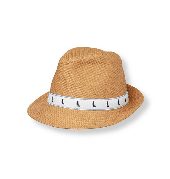 Sailboat Straw Fedora