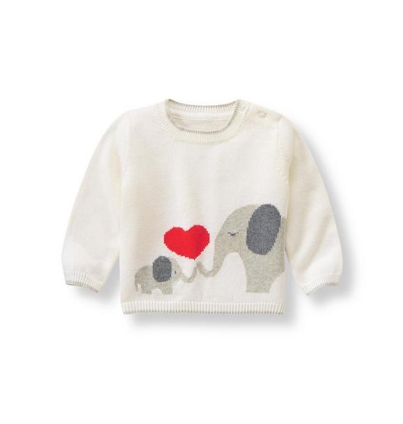 Elephant Valentine Sweater