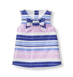 Organdy Striped Top