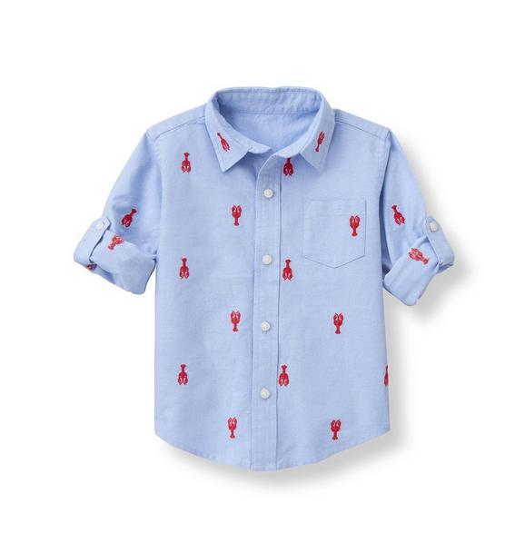 Lobster Linen Shirt