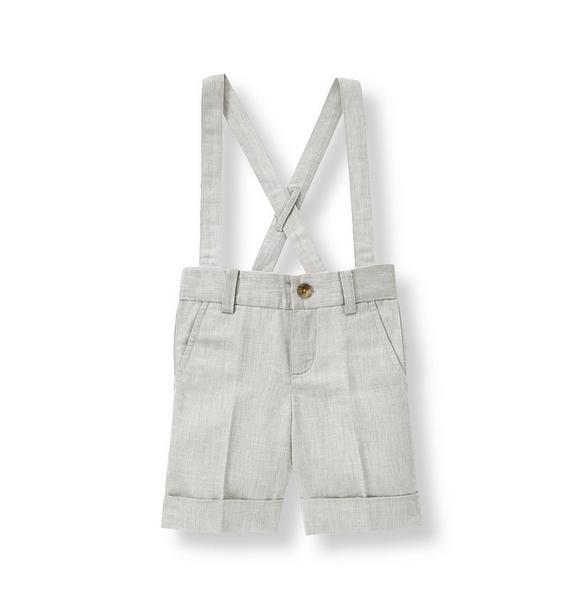 Chambray Suspender Short