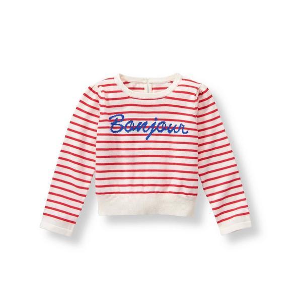 Striped Bonjour Sweater
