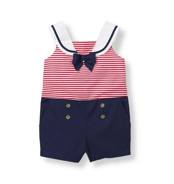 Sweet Sailor Romper