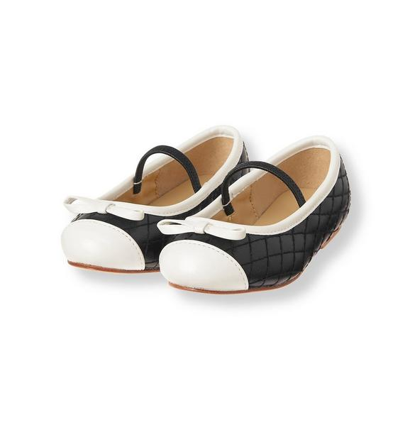 Quilted Colorblock Flat