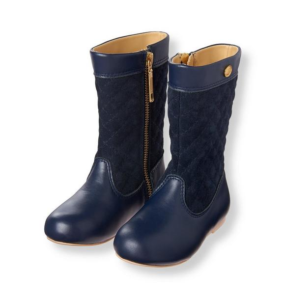 Quilted Riding Boot