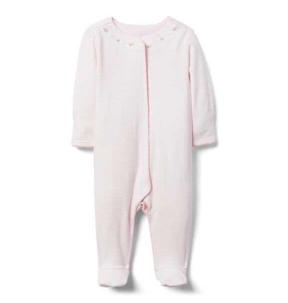 Newborn Rose Footed 1-Piece