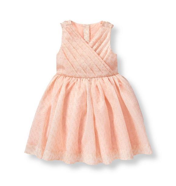 Shimmer Jacquard Dress