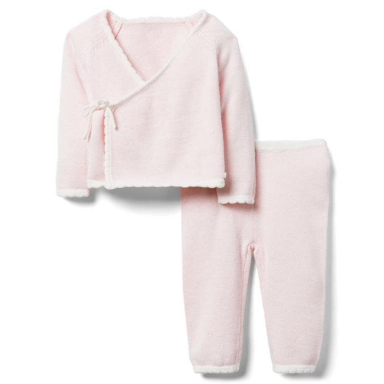 01e51d10b Newborn Precious Pink Newborn Sweater Gift Set by Janie and Jack