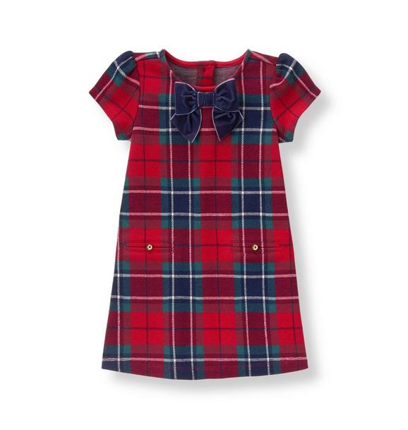 Plaid Jacquard Dress