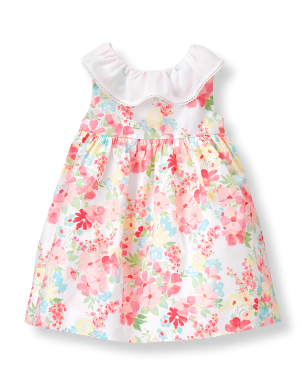 Newborn Tulip Pink Floral Floral Dress By Janie And Jack