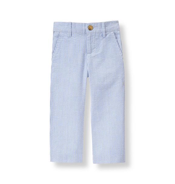 Striped Seersucker Pant