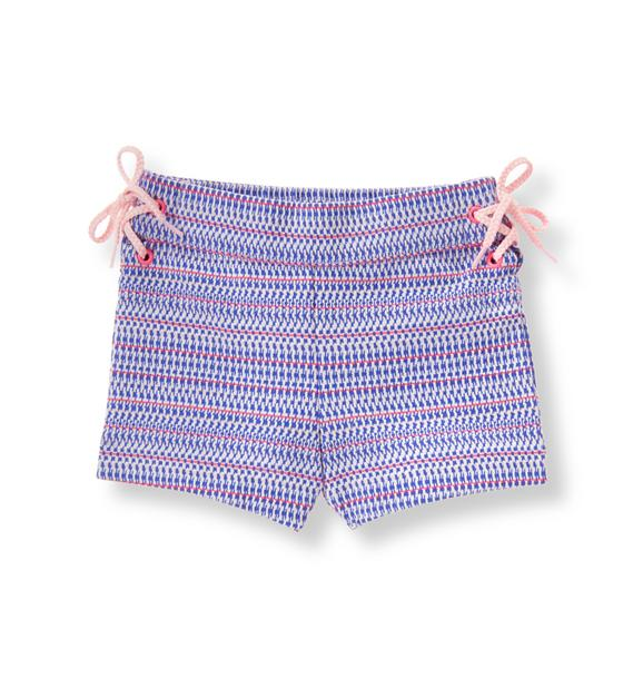 Textured Jacquard Short