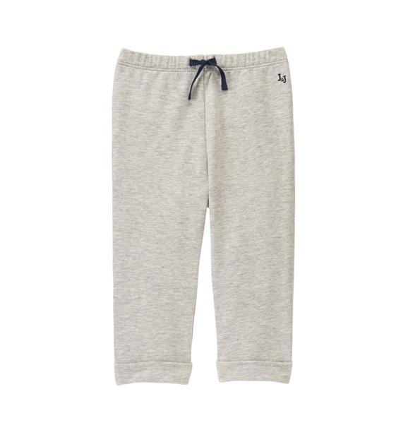 Cuffed Terry Pant