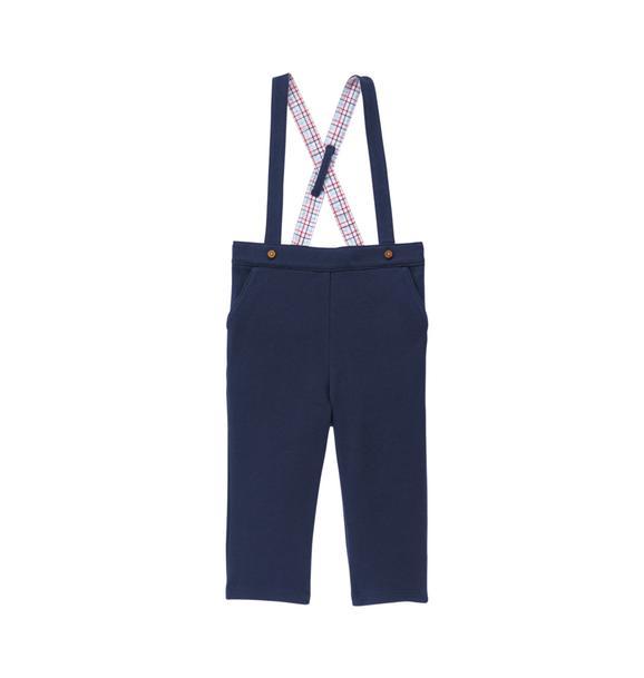 Knit Suspender Pant
