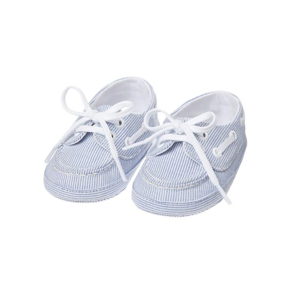 Striped Crib Shoe