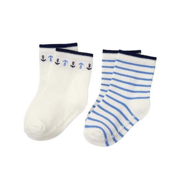 Nautical Sock 2-Pack