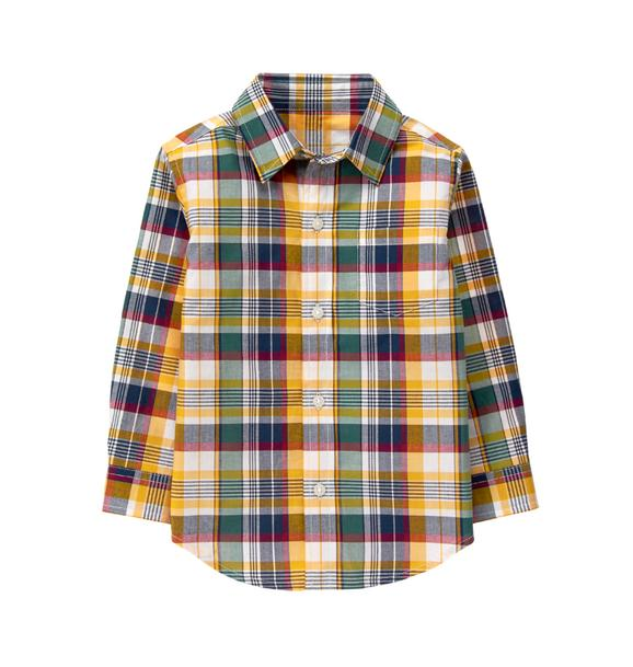 Plaid Madras Shirt