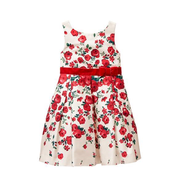 Falling Rose Dress
