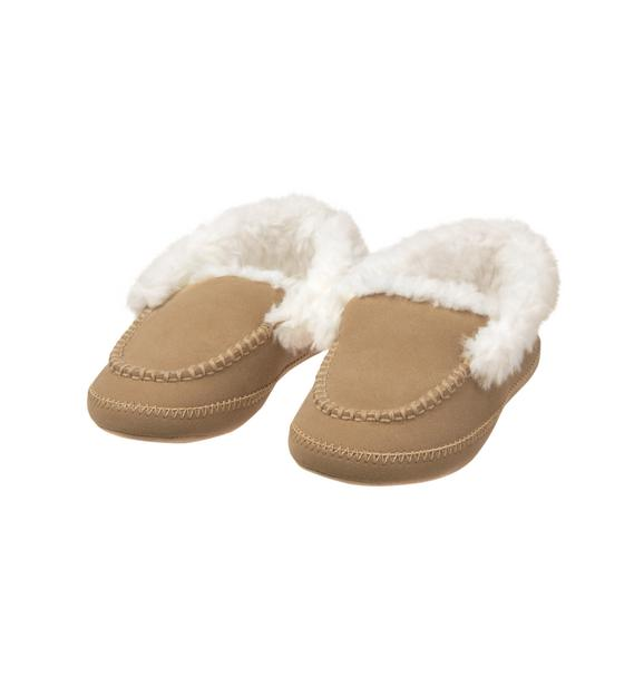Faux Fur Lined Slipper