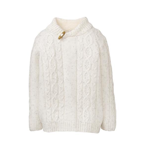 Sherpa Collar Sweater