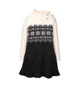 Fair Isle Sweater Dress