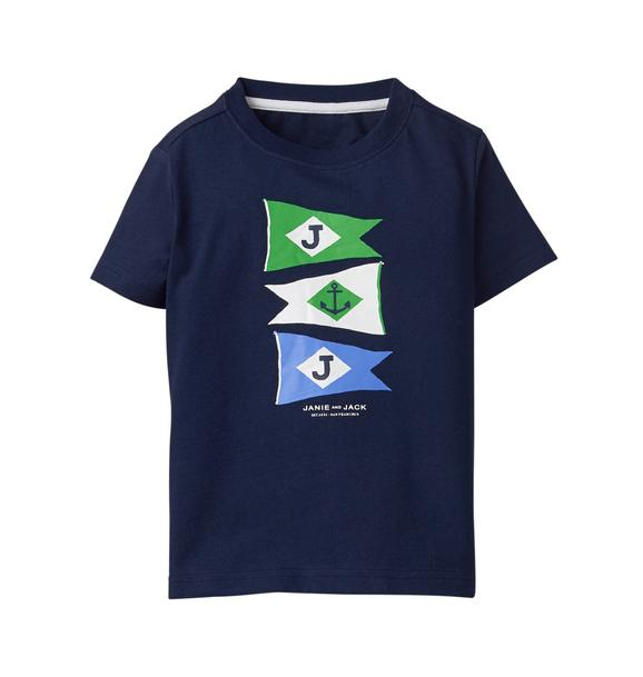 Nautical Flag Tee