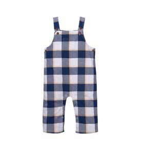 Plaid Overall