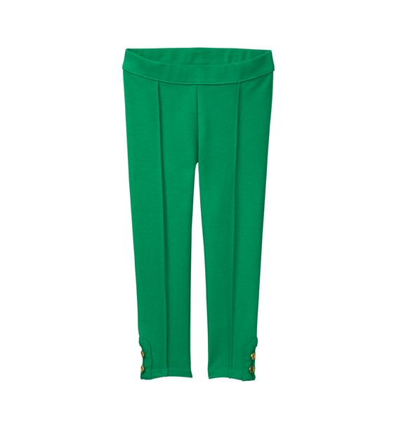 Button Cuff Ponte Pant