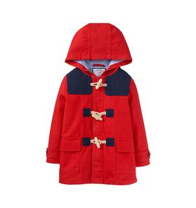 Hooded Canvas Coat