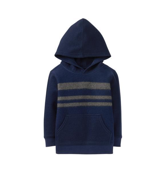 Hooded Fleece Pullover