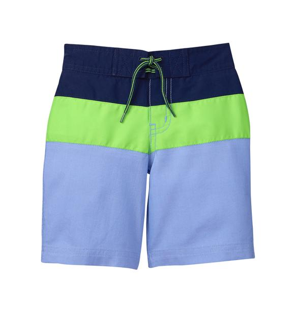 Colorblock Swim Trunk