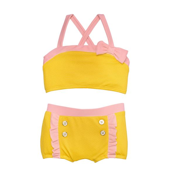 Textured 2-Piece Swimsuit