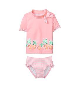 Pineapple 2-Piece Swimsuit