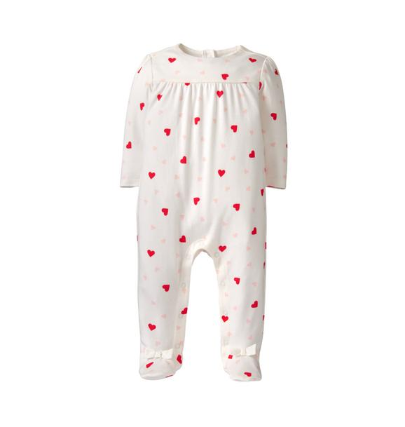 Heart Footed 1-Piece