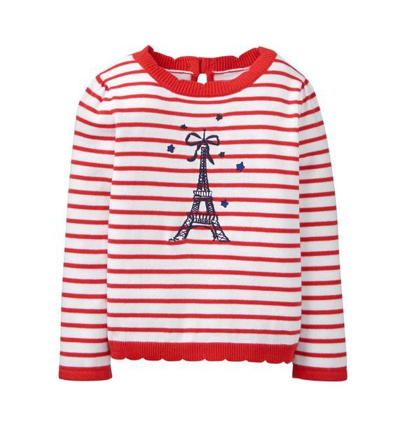 Striped Paris Sweater