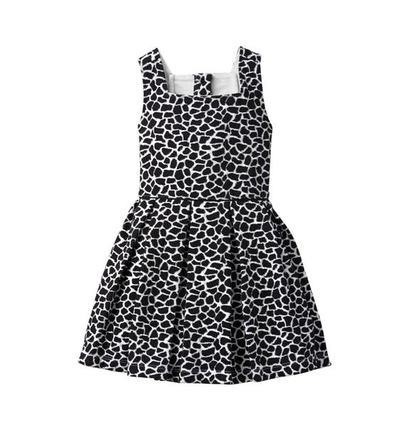 Giraffe Print Dress