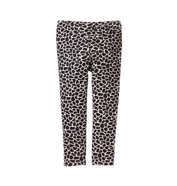 Giraffe Print Ponte Pant