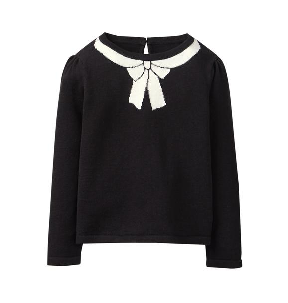 Knit Bow Sweater