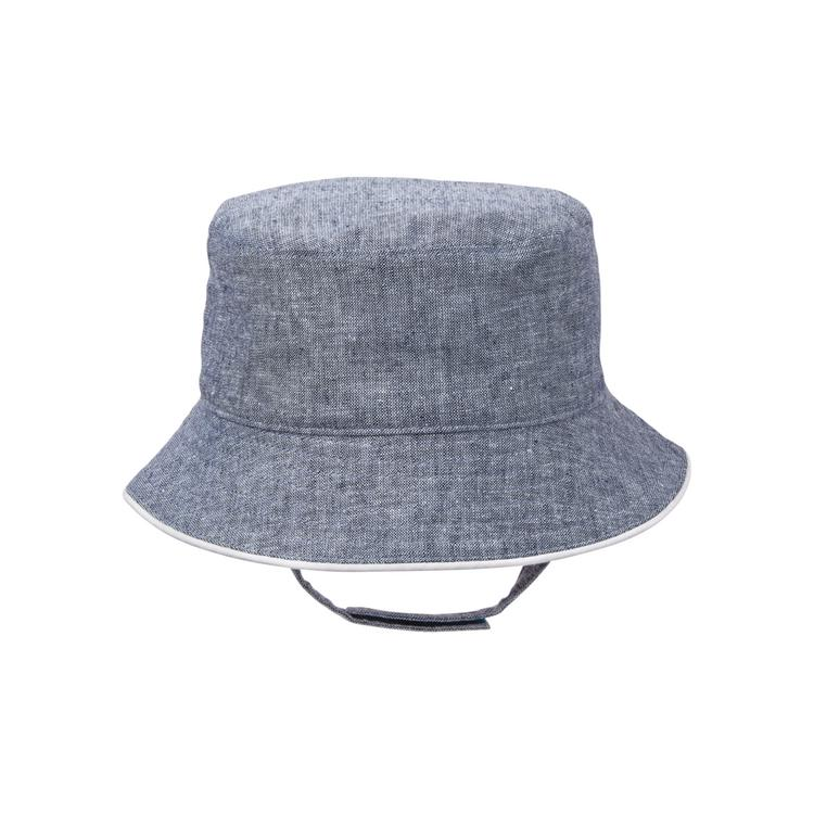 79b5ddde2f8 Accessories Chambray Blue Chambray Bucket Hat by Janie and Jack