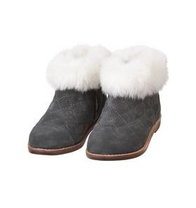 Faux Fur Trim Bootie