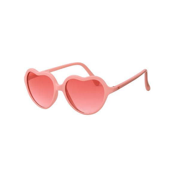 Tinted Heart Sunglasses