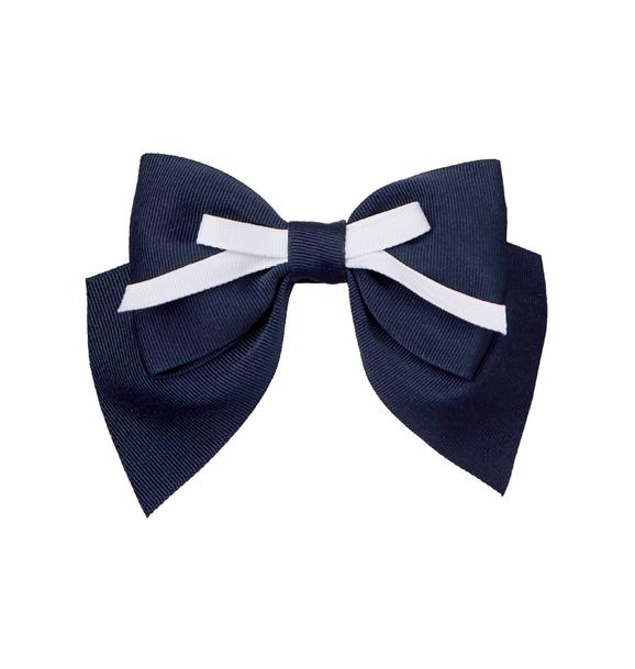 Double Bow Barrette