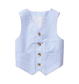 Seersucker Suit Vest