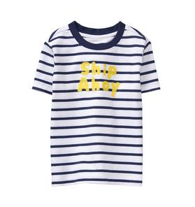 Striped Ship Ahoy Tee