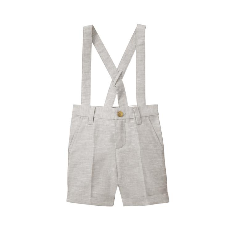 Janie and Jack  Boys Chambray Linen Bodysuit