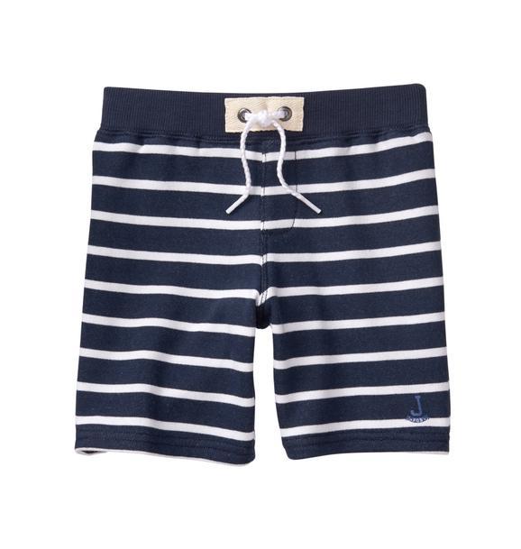 Striped Knit Short